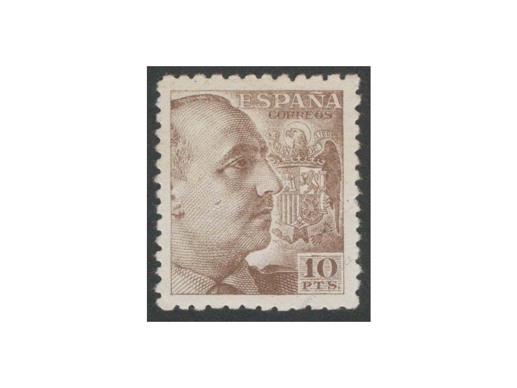1939, 10Pta Franco, MiNr.857A, **