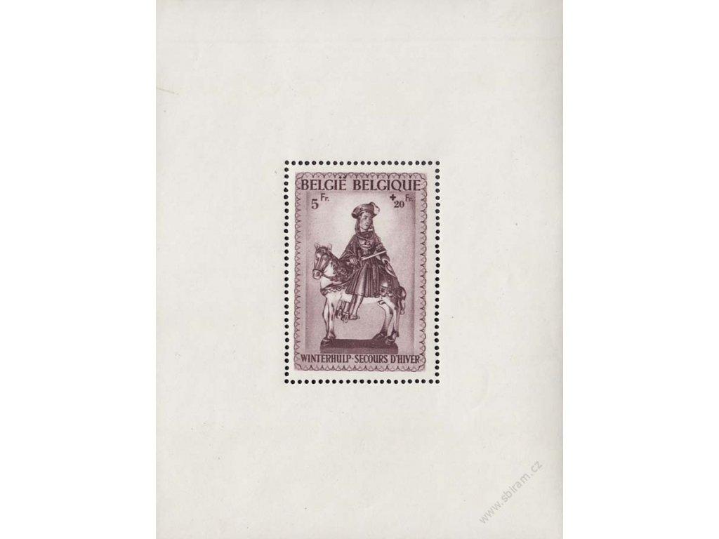 1942, aršík Sankt martin, MiNr.Bl.16, **
