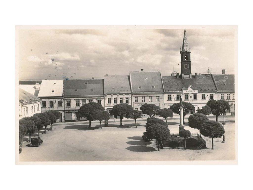 1945, Chotěboř, Dni odboje, pohlednice, neprošlé
