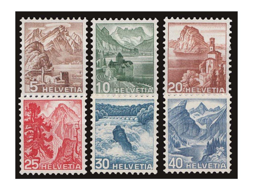 1948, 5-40C série, MiNr.500-505, **