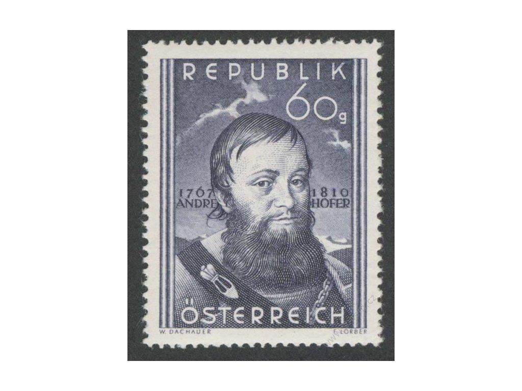 1950, 60g Hofer, MiNr.949, **