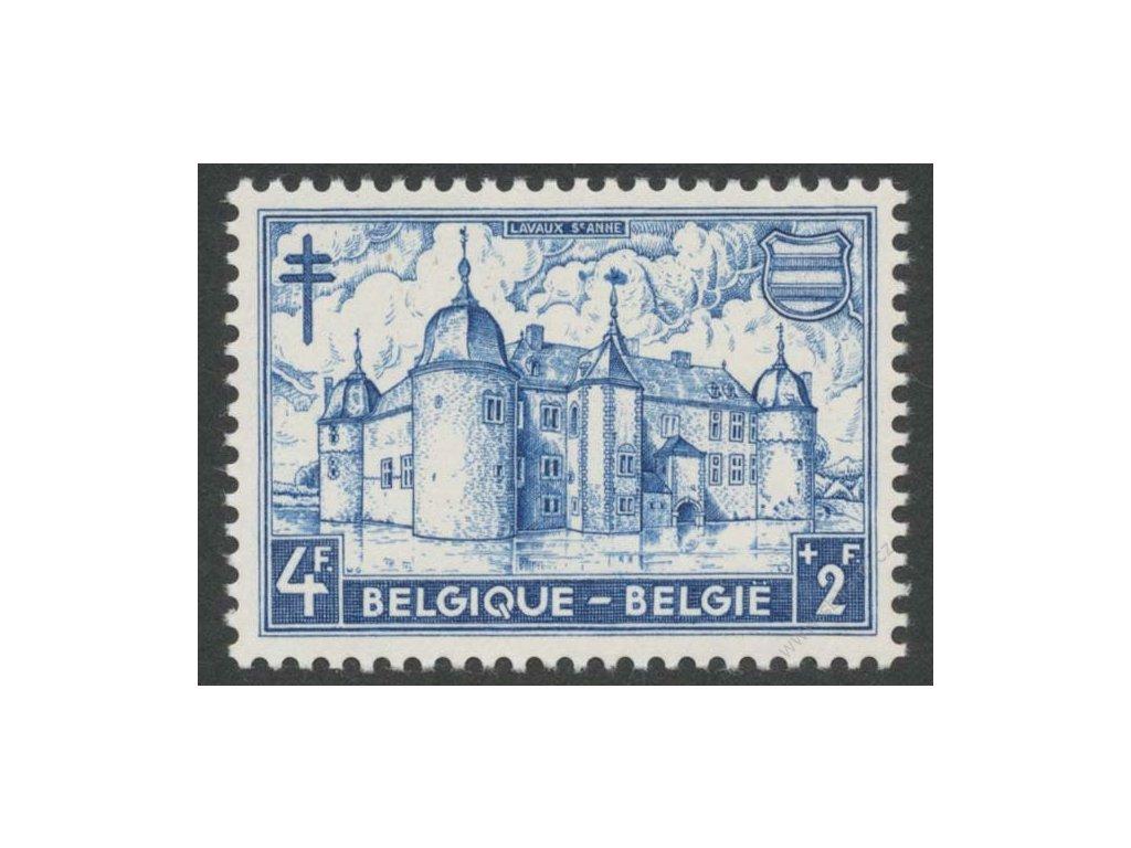 1951, 4Fr Zámek Lavaux, , MiNr.920, **