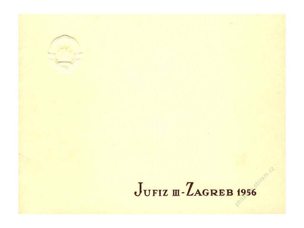 1956, sešitek Jufiz III - zagreb 1956, */**