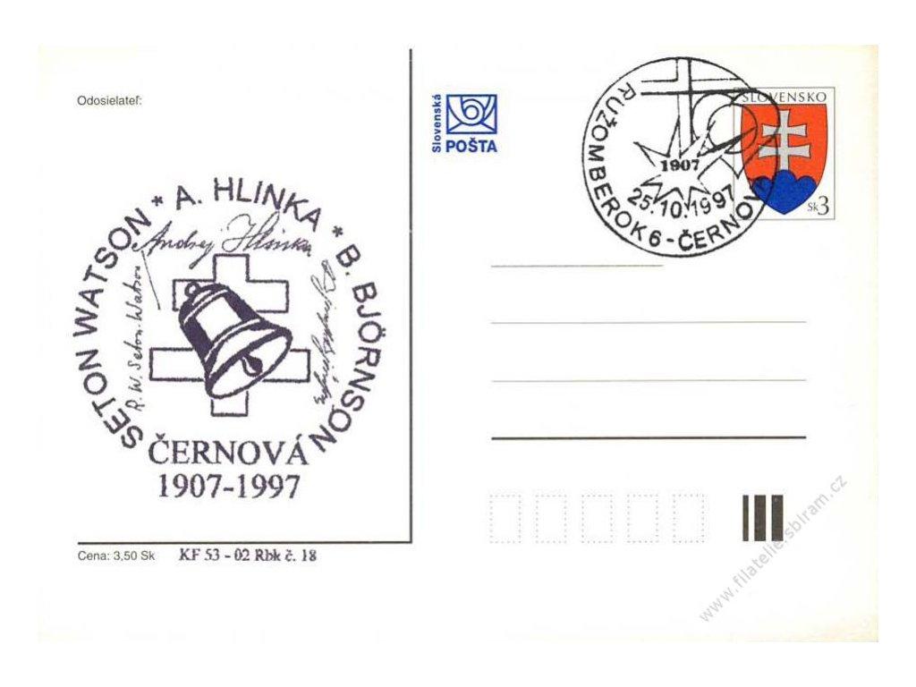 1997, A. Hlinka, privátní, neprošlé, dv