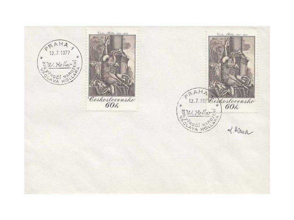 Housa, podpis na obálce z roku 1977