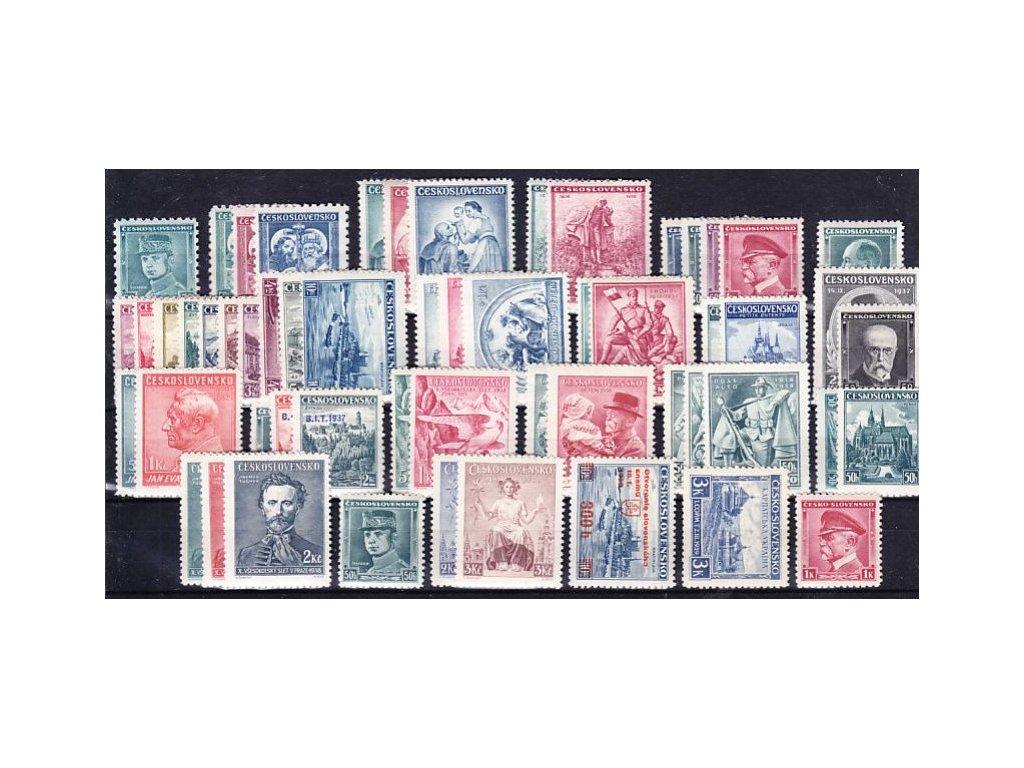 Základní řada výplatních zn. 1935-1939, **