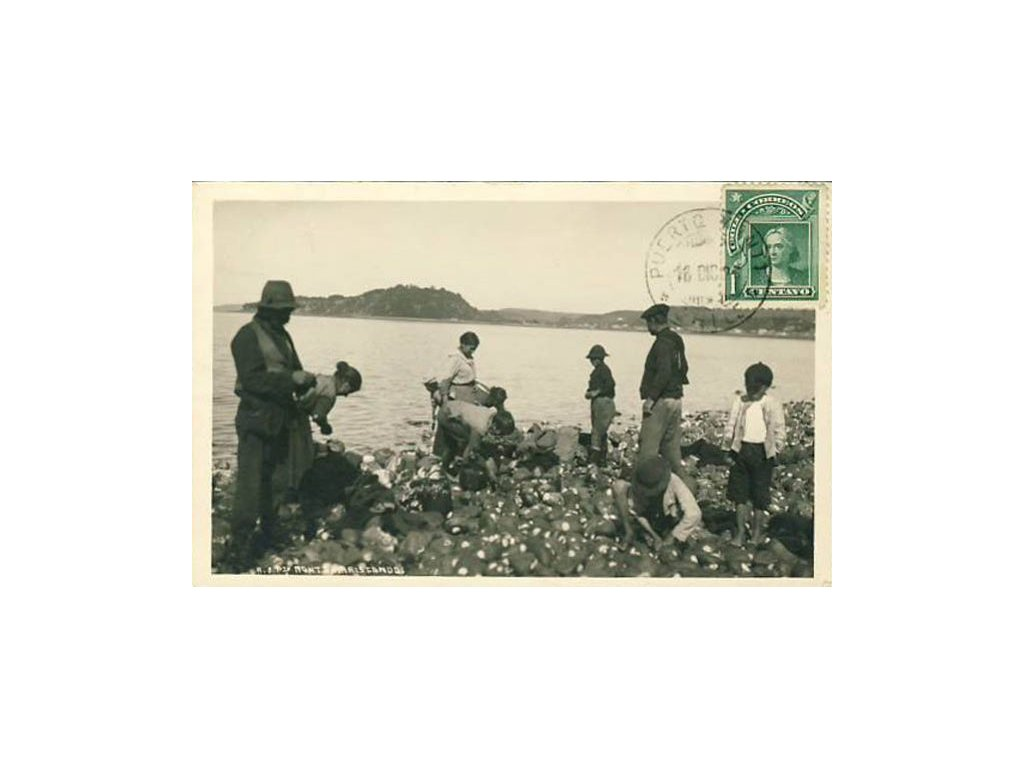 Chile, 1926, DR Puerto Montt, pohlednice