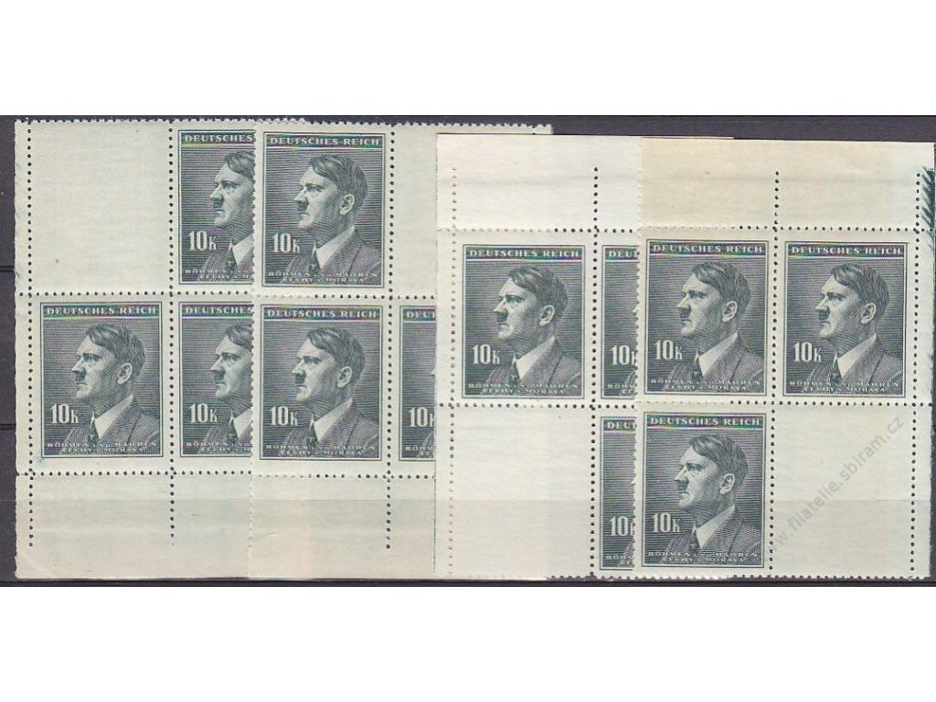 10K Hitler, roh. miniatura, Nr.96, **