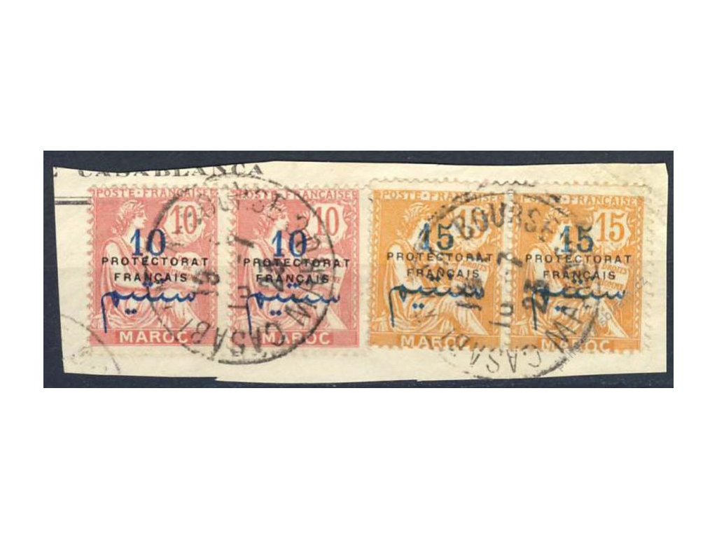 Maroko, 1923, výstřižek