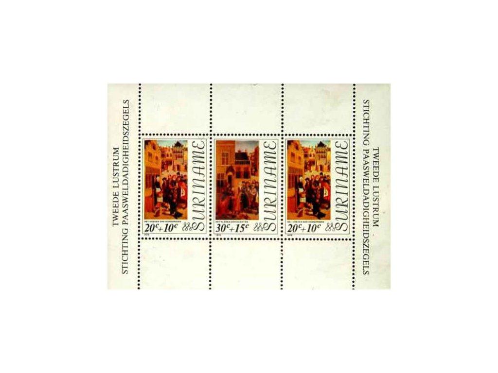 Surinam, 1976, aršík, MiNr.Bl.16, **