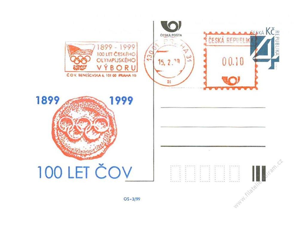 1999, 100 let ČOV, PR 15.2.99, lom roh