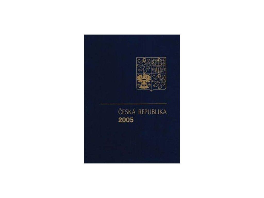 2005, RA 13 ročníkové album 2005 s PTR, katalog 1800Kč