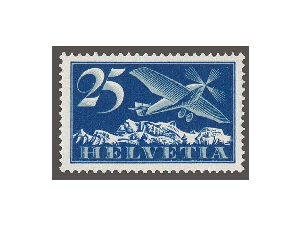 1923, 25C letecká, MiNr.180, **