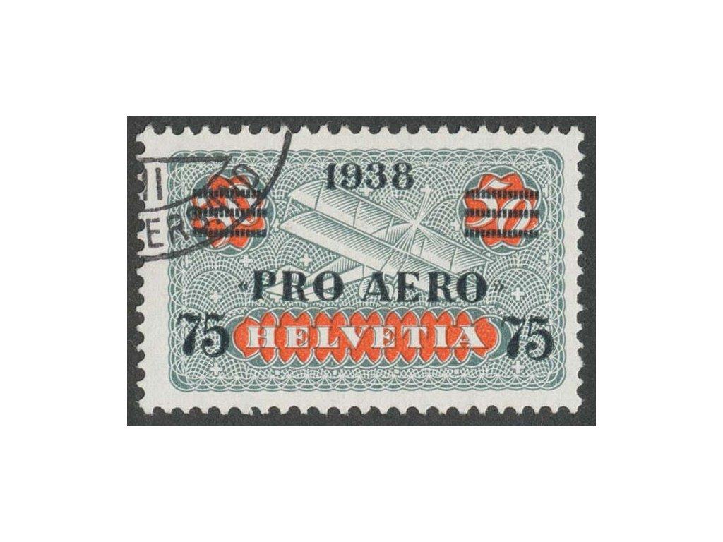 1938, 75C/50C letecká, MiNr.325, razítkované