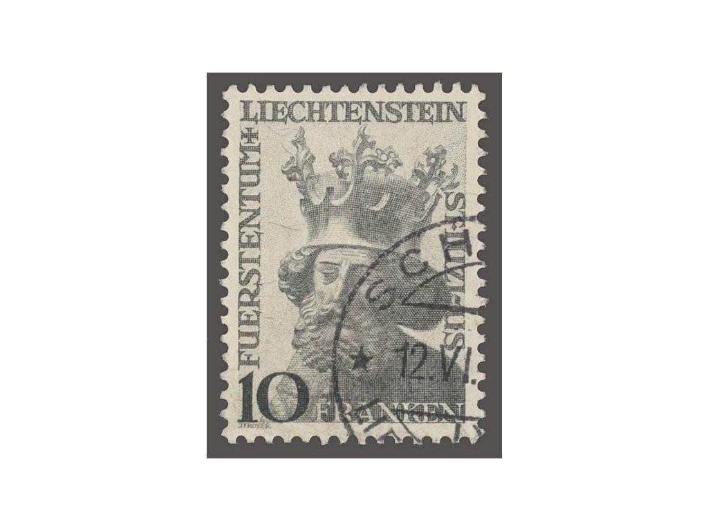 1946, 10Fr sv. Luzius, MiNr.247, razítkované