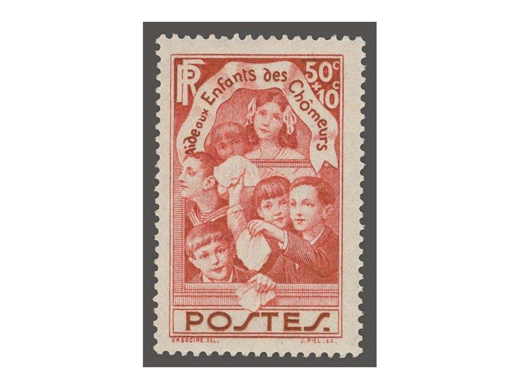 1936, 50C Děti, MiNr.317, **