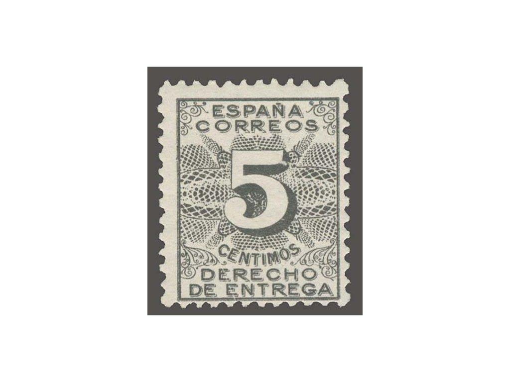 1931, 5C černá, MiNr.A570, * po nálepce