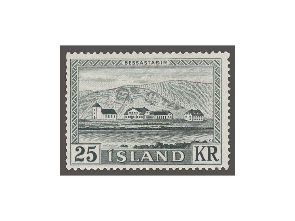 1957, 25Kr Prezidentský palác, MiNr.319, **