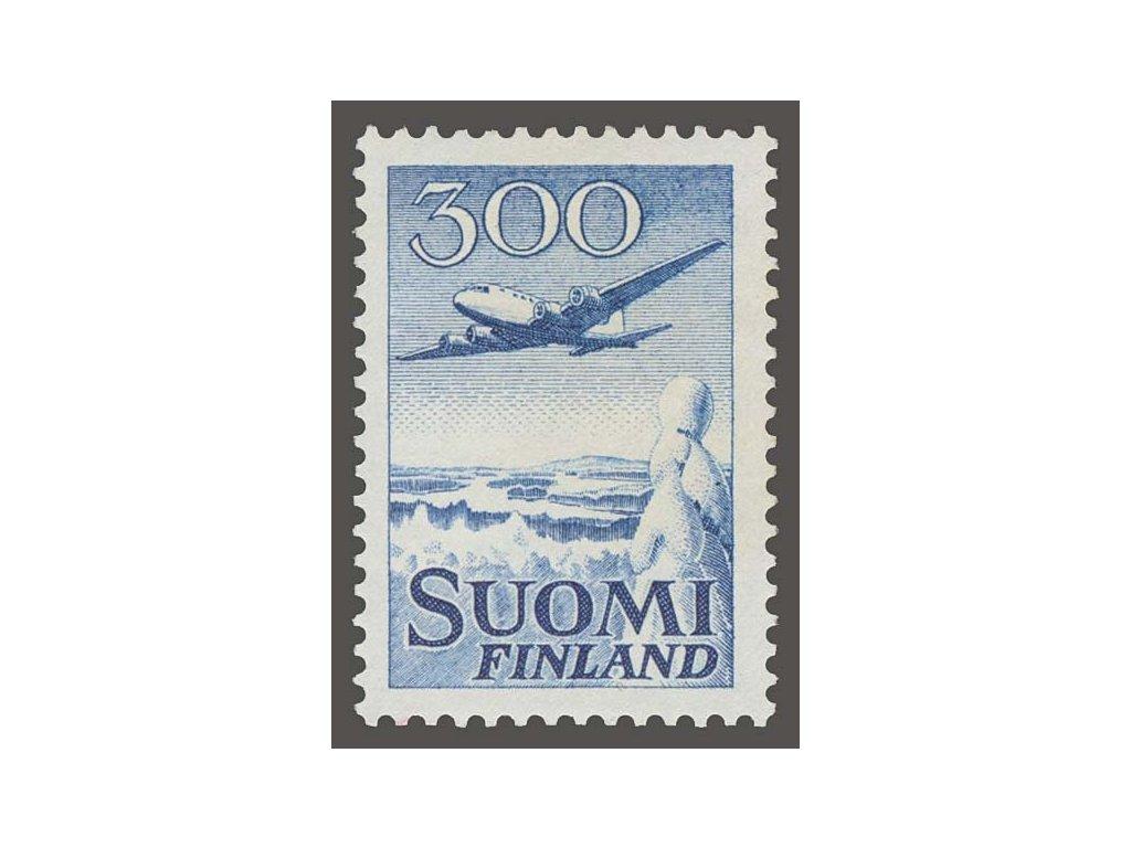1958, 300 (M) Letadlo, MiNr.488, * po nálepce