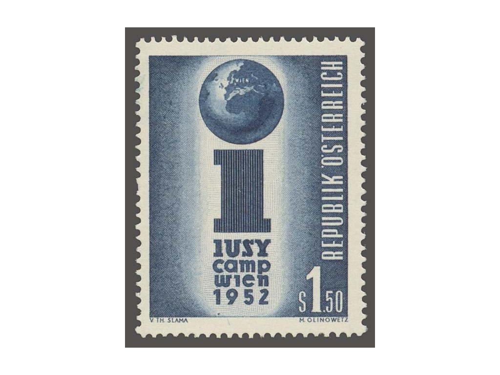 1952, 1.50S Symbol, MiNr.974, **