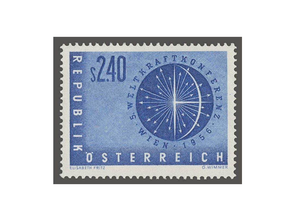 1956, 2.40S Světová konference, MiNr.1026, **