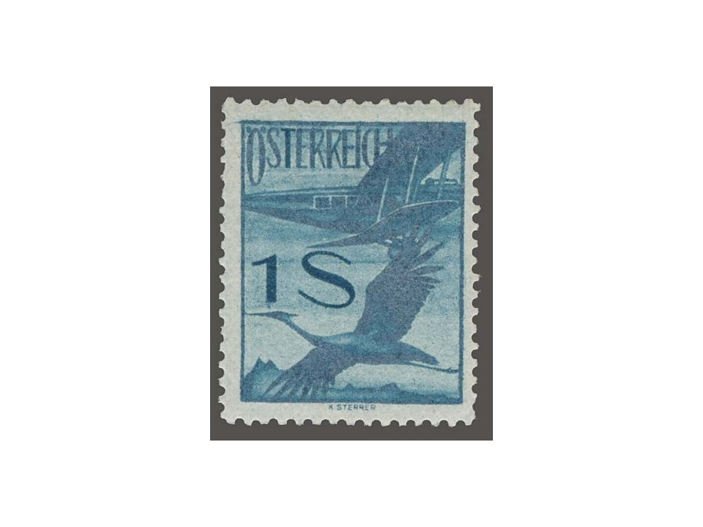1925, 1S letecká, MiNr.483, * po nálepce