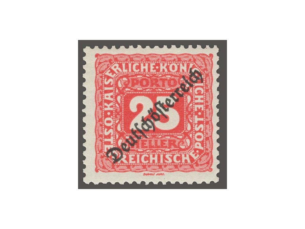1919, 25H doplatní, MiNr.68, **