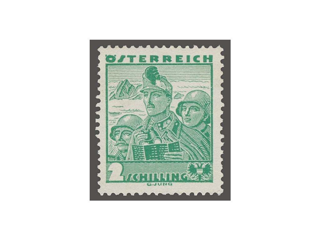1934, 2S Voják, MiNr.585, **