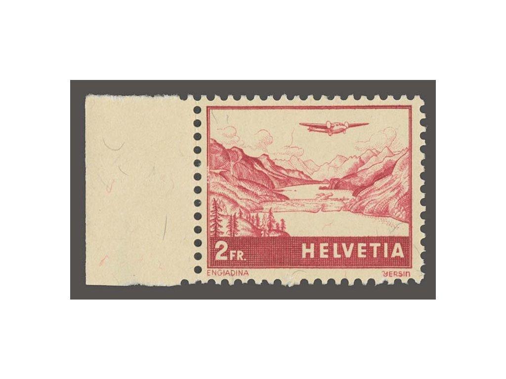 1941, 2Fr letecká, MiNr.393, **