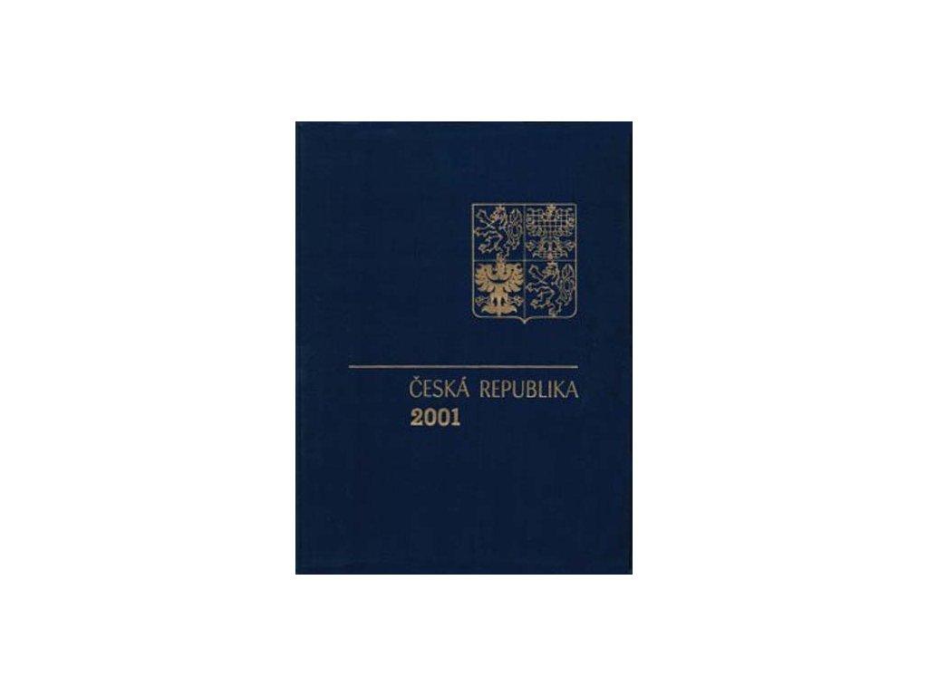 2001, RA 9 ročníkové album 2001 s PTR, katalog 1800Kč