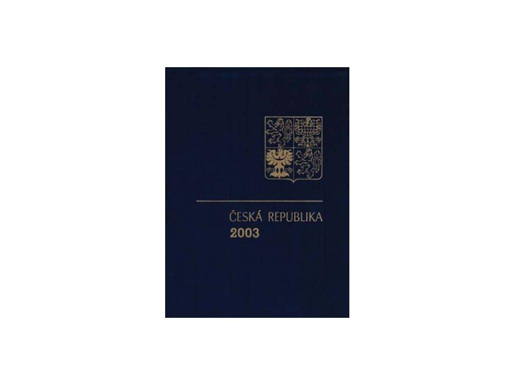 2003, RA 11 ročníkové album 2003 bez PTR, katalog 650Kč