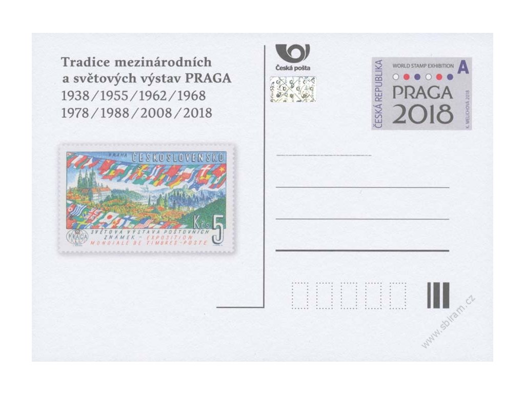 CDV 181 Historie výstav Praga &quot!A&quot!