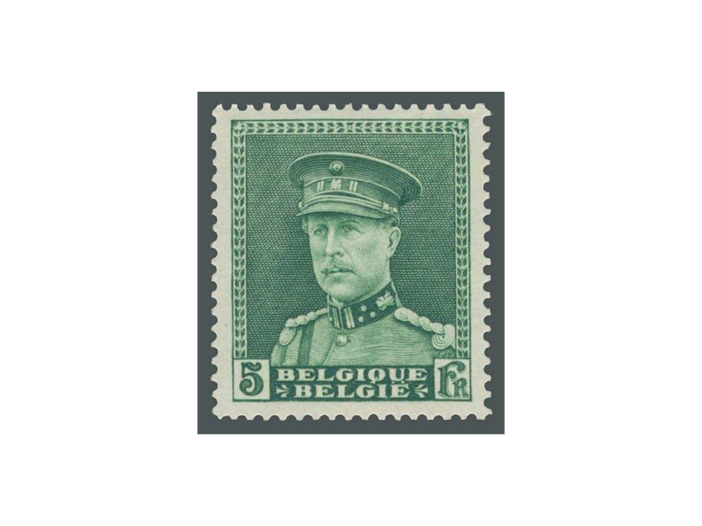 1931, 5Fr Albert, MiNr.312, * po nálepce