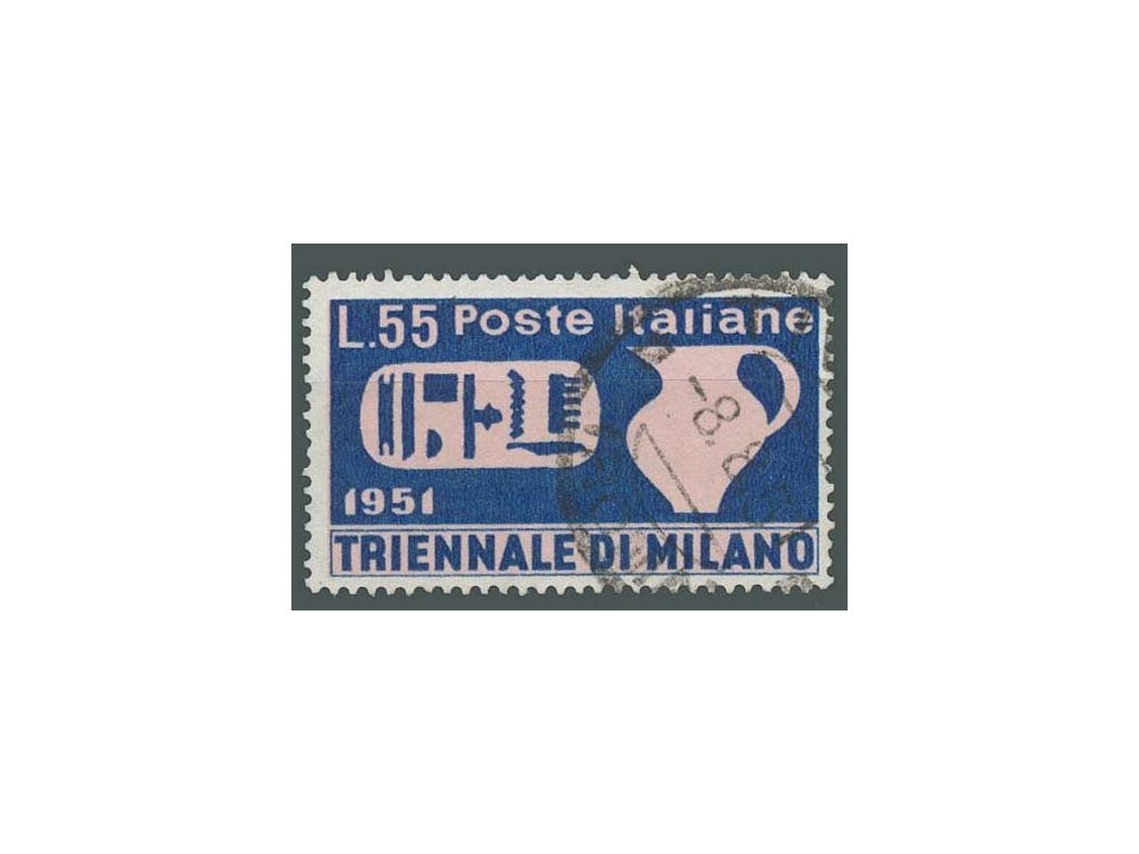 1951, 55L Trienále, MiNr.840, razítkované