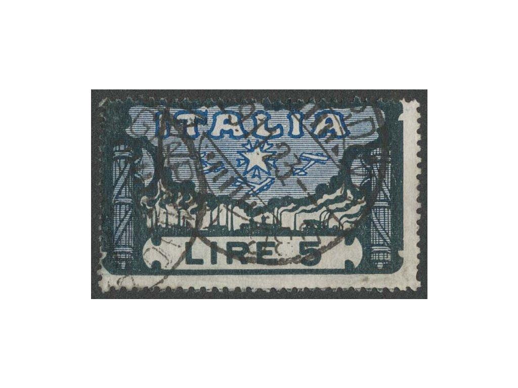 1923, 5L Pochod na Řím, MiNr.182, razítkované