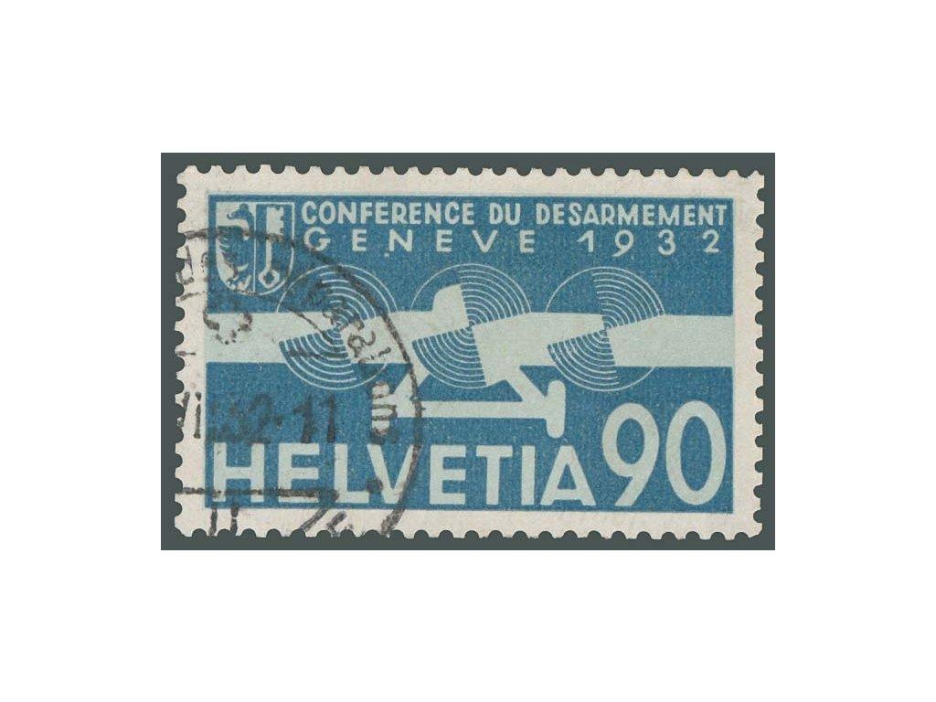 1932, 90C letecká, MiNr.258, razítkovaná