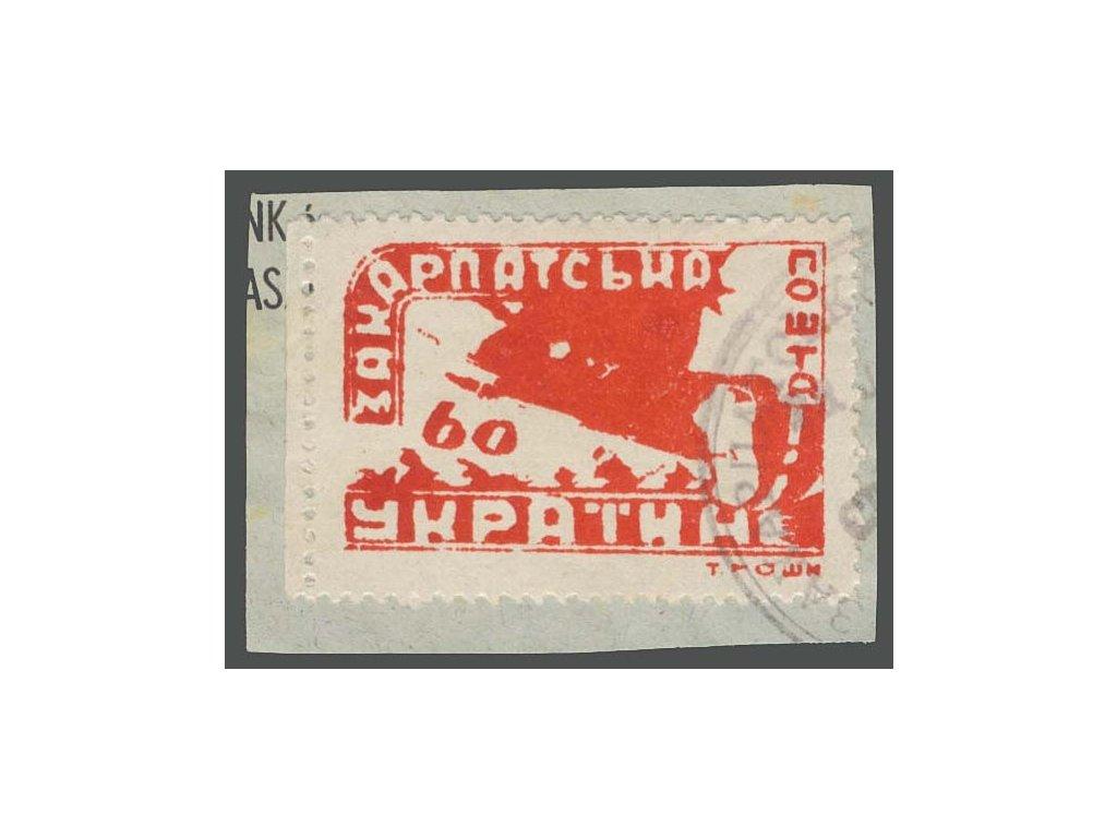 Karpatská Ukrajina, 1945, 60F Voják, výstřižek