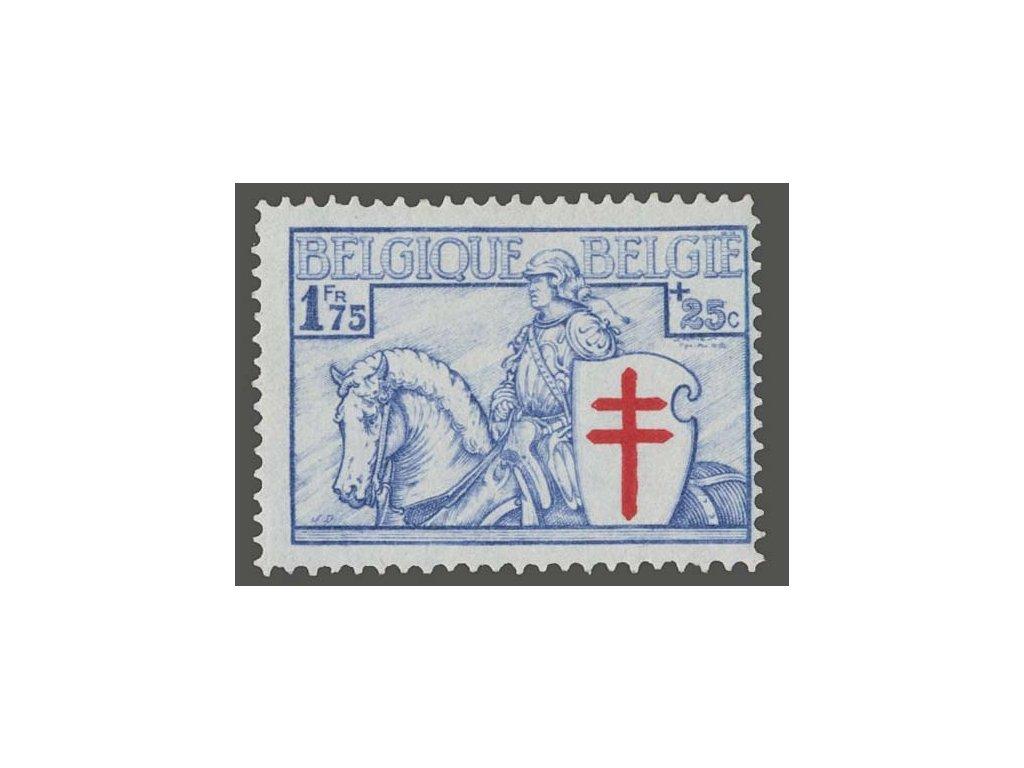 1934, 1.75Fr Jezdec, MiNr.391, * po nálepce