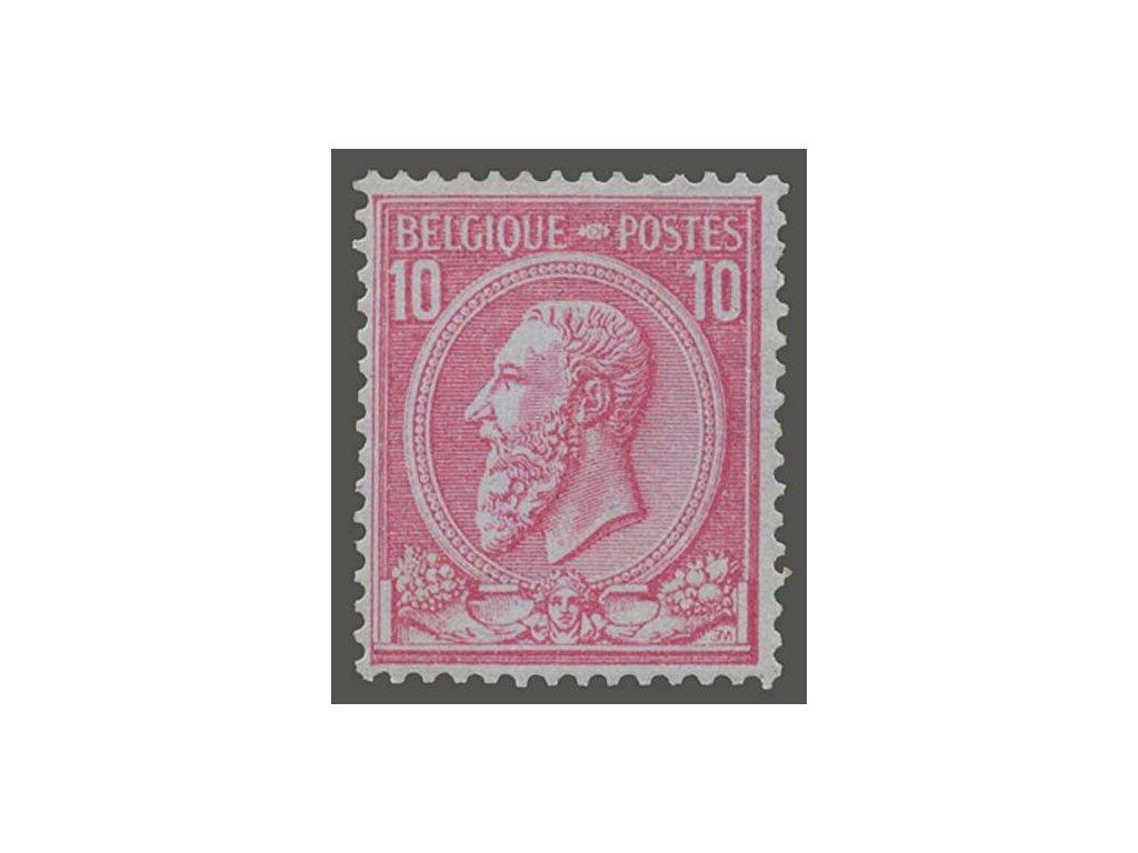 1884, 10C Leopold, MiNr.42, * po nálepce