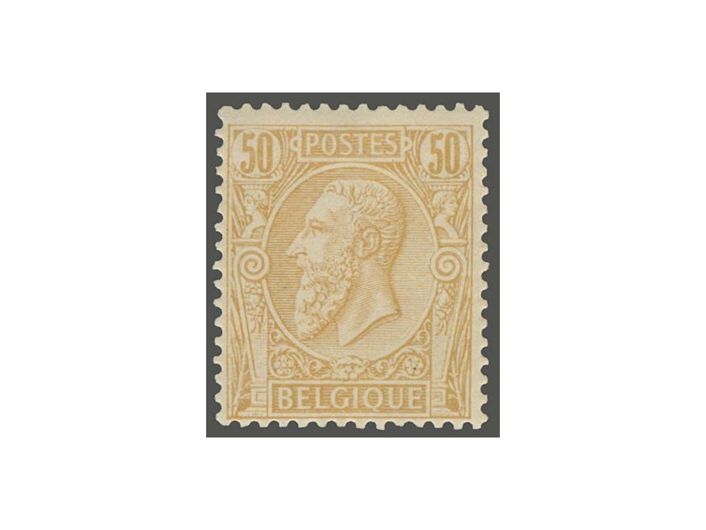 1884, 50C Leopold, MiNr.45, **
