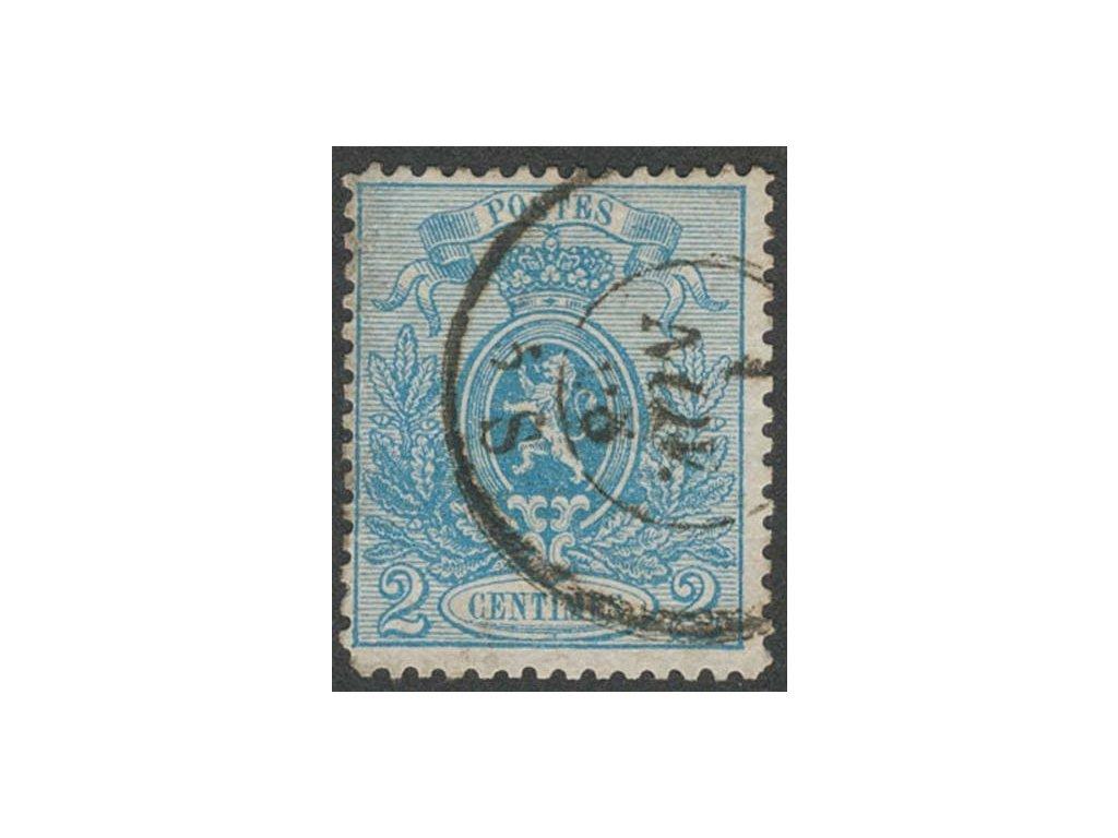1866, 2C Znak, MiNr.21, razítkované