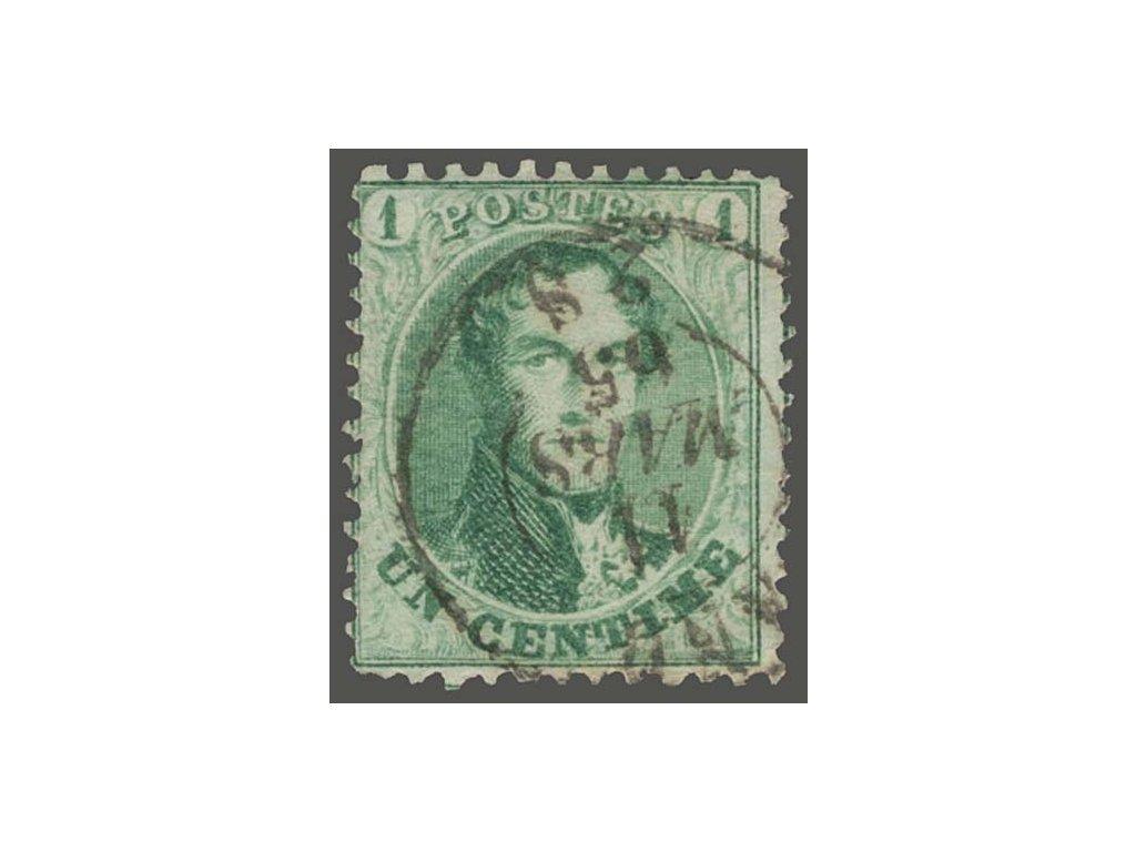 1863, 1C Leopold, MiNr.10B, razítkované