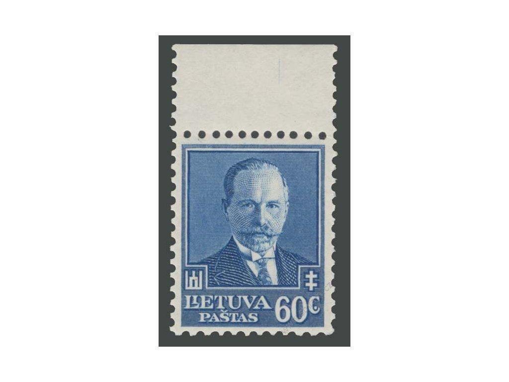 Lietuva, 1934, 60C Smetona, MiNr.393, **