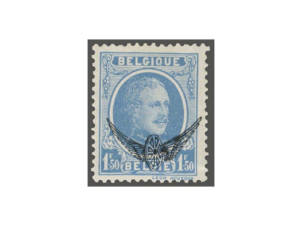 1929, 1.50Fr služební, MiNr.5a, **