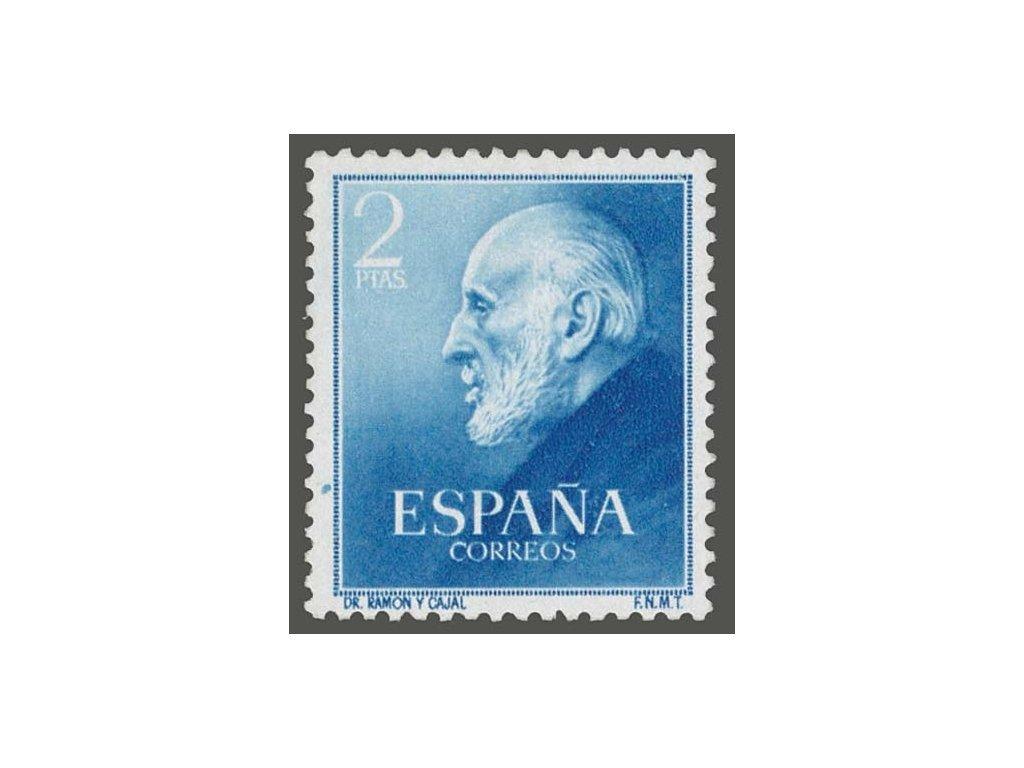 1952, 2Pta Ramón y Cajal, MiNr.1012, **