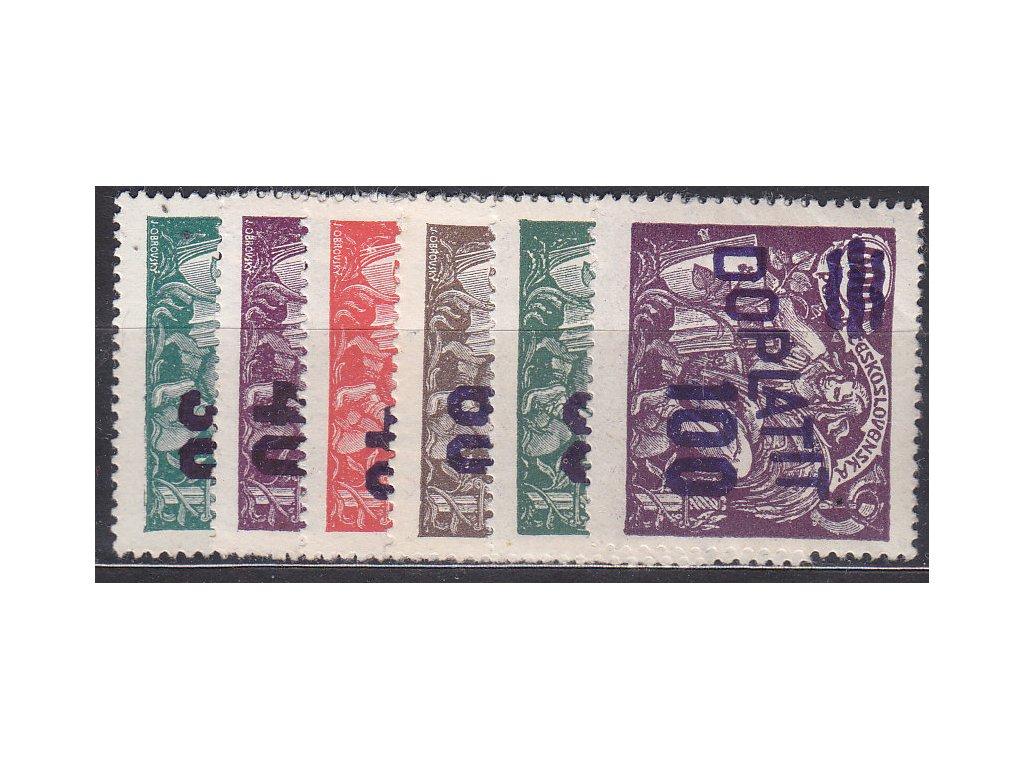 1926, 30/100-100/600h série, Nr.DL42-7, **, ilustrační foto