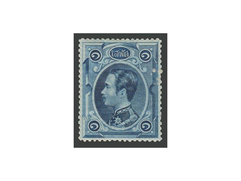 Thajsko, 1883, 1 Solot král, MiNr.1, * po nálepce, dv