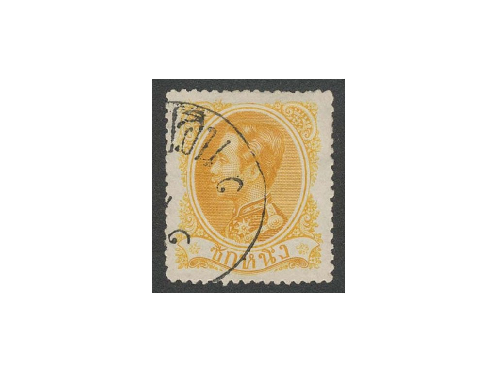 Thajsko, 1883, 1 Sik král, MiNr.4, razítkované, dv