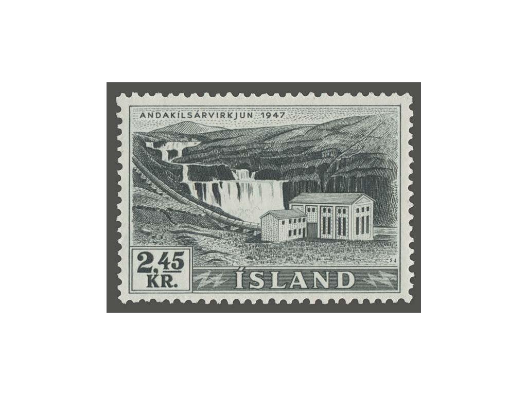 1956, 2.40Kr Elektrárna, MiNr.308, **