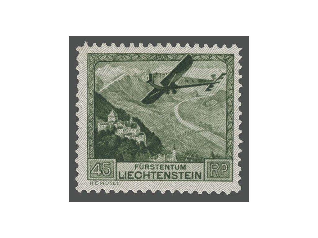 1930, 45Rp letecká, MiNr.112, * po nálepce